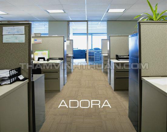 Ứng dụng thảm tấm văn phòng ADORA 02