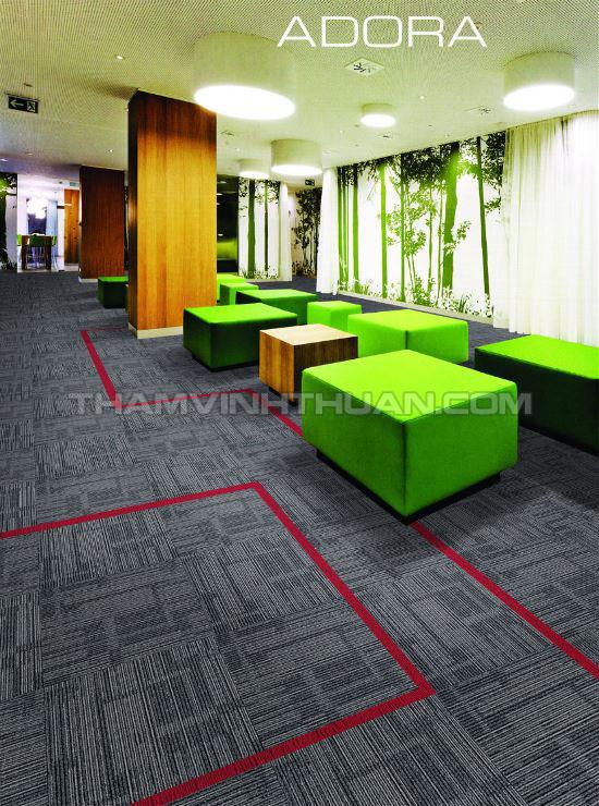 Ứng dung thảm tấm văn phòng ADORA 03