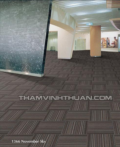 Ứng dụng của thảm tấm văn phòng MELODY