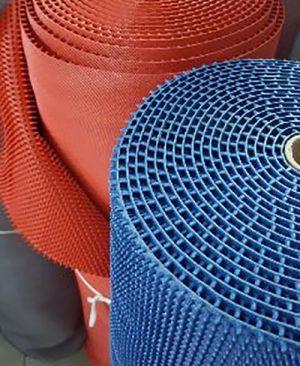 Cuộn thảm nhựa đinh tròn