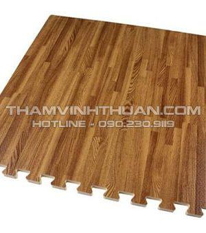 Thảm xốp vân gỗ 40 x 40 cm