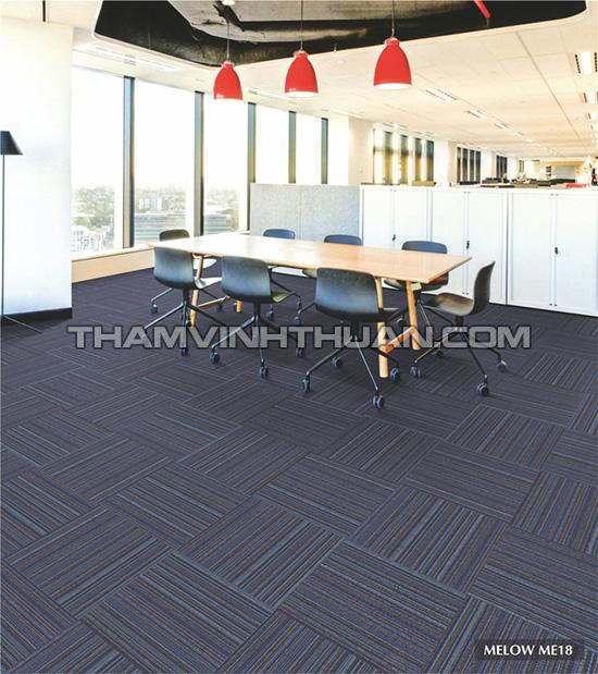 Ứng dụng của thảm tấm văn phòng MELOW 1