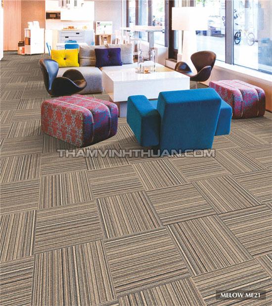 Ứng dụng của thảm tấm văn phòng MELOW 3