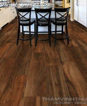 Công dụng sàn nhựa vân gỗ vinyl DELUXE
