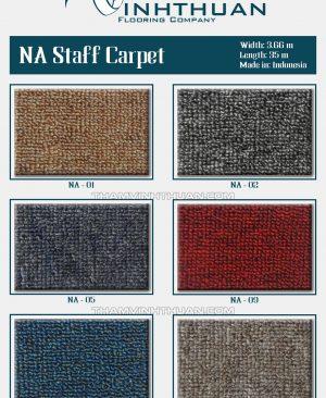Thảm trải sàn NA Staff