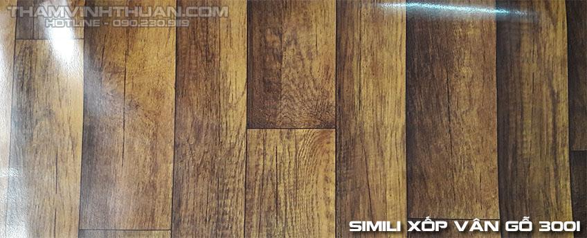 Hình ảnh Simili xốp vân gỗ 3001