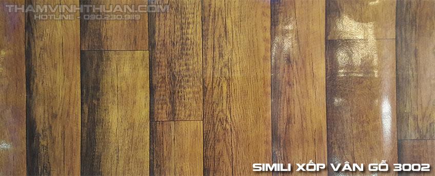 Hình ảnh Simili xốp vân gỗ 3002