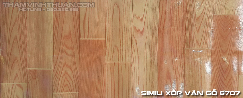 Hình ảnh Simili xốp vân gỗ 6707