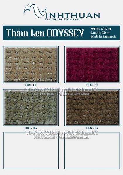 Thảm len cao cấp Odyssey