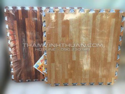 Thảm xốp vân gỗ 60 x 60 cm