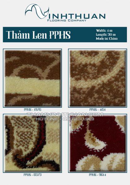 Thảm len PPHS