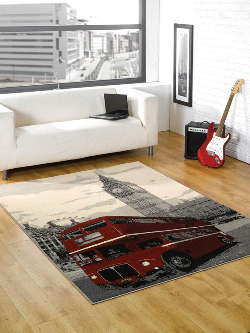 Thảm phòng khách đơn giản