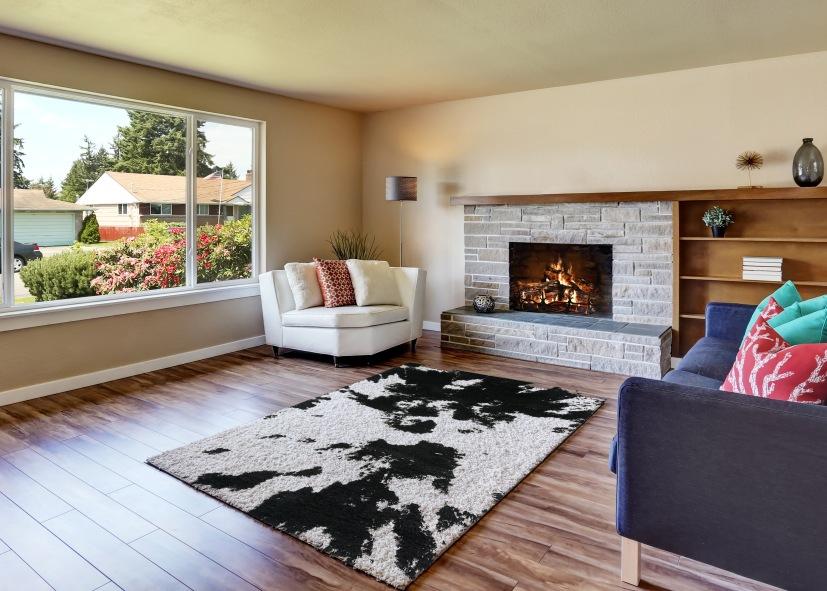 Thảm sofa phòng khách E0006T - 1